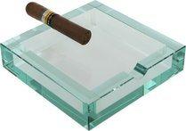 adorini Bloq Zigarren Aschenbecher Kristall