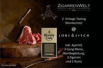 Vintage Zigarrentasting im Lore & Fitch am 24.11.2016