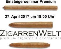 Einsteigerseminar Premium @ ZigarrenWelt - Do., 27.04.2017 in Köln - Preis pro Person