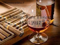 Vintage Rum Tasting - Do., 18.05.2017 @ ZigarrenWelt Köln