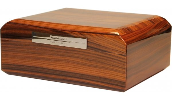 Prometheus Humidor aus Rosenholz für bis zu 50 Zigarren