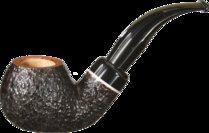 Savinelli Gaius 641 Briarwood Pipe Rustic