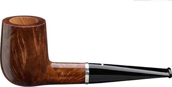 Caminetto Vintage Shape 01 Briar Pipe Marrone
