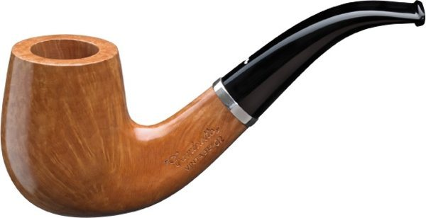 Caminetto Vintage Shape 02 Tobacco Pipe Naturale