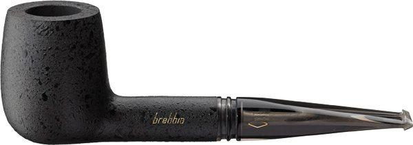 Brebbia Aero Shape 303 Briar Pipe Black