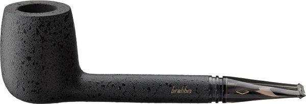 Brebbia Aero Shape 606 Briar Pipe Black