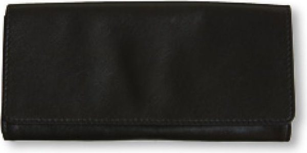 Genuine Leather Tobacco Pouch Black (holds 40g)