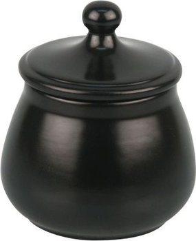 Ceramic Tobacco Jar Matte Black