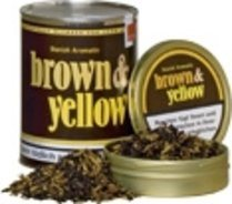 John Aylesbury Brown and Yellow Pipe Tobacco 50 g.