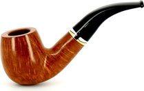 Savinelli Onda Smooth 616 KS Pfeife mit Kopf aus Naturholz