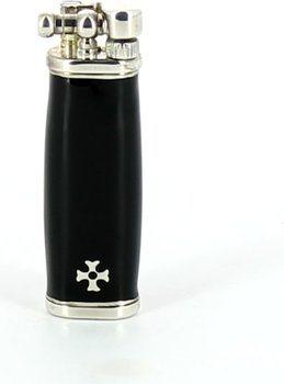 Sillem's Slim Boy Feuerzeug Silber/Schwarz