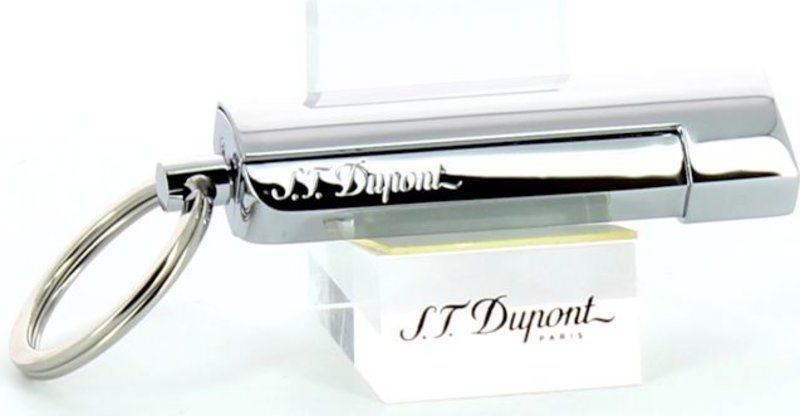 S.T. Dupont Zigarrenbohrer Maxijet Schlüsselanhänger Chrom