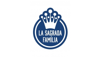 La Sagrada Familia - blau
